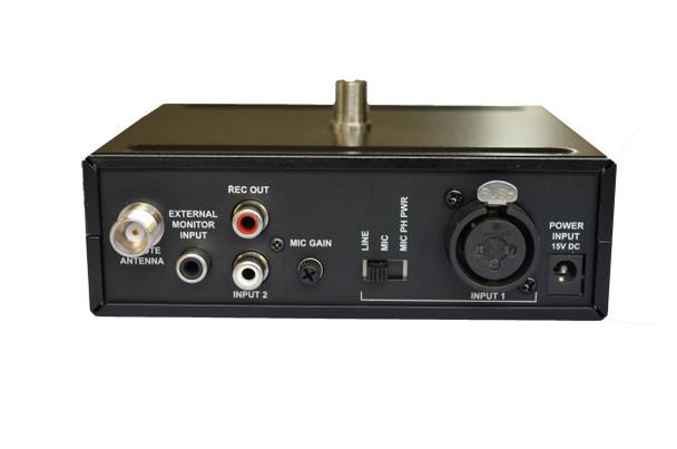 Enersound T-500 Multichannel Transmitter Rear Panel