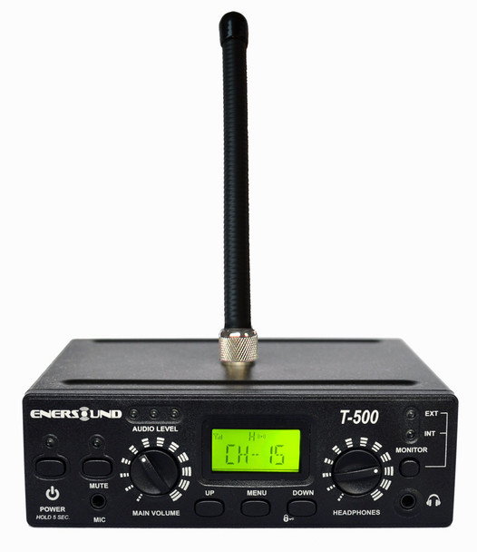 Enersound T-500 Multichannel Transmitter  with ANT-500 antenna (included)