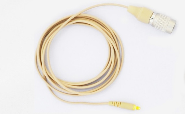 Cable Assembly for MIC-400 with HRS 4 PIN Locking Connector For Audio Technica Wireless Transmitter.