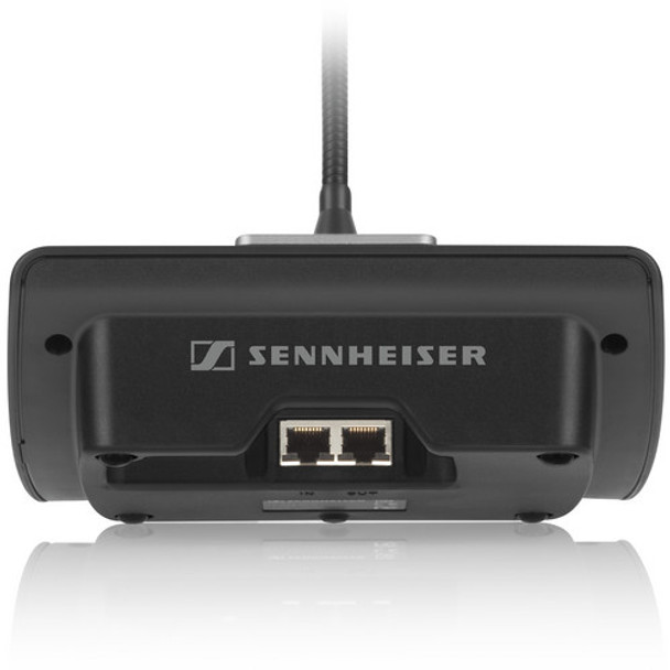 Sennheiser ADN-C1:  ADN chair unit with 15-inch gooseneck and KE10 super-cardioid microphone capsule
