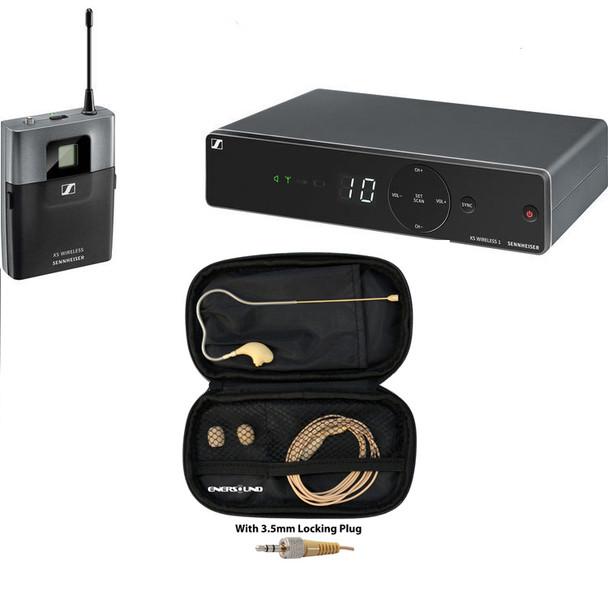 Sennheiser XSW 1-Cl1 wireless earset microphone bundle  (w/ MIC400SEN)