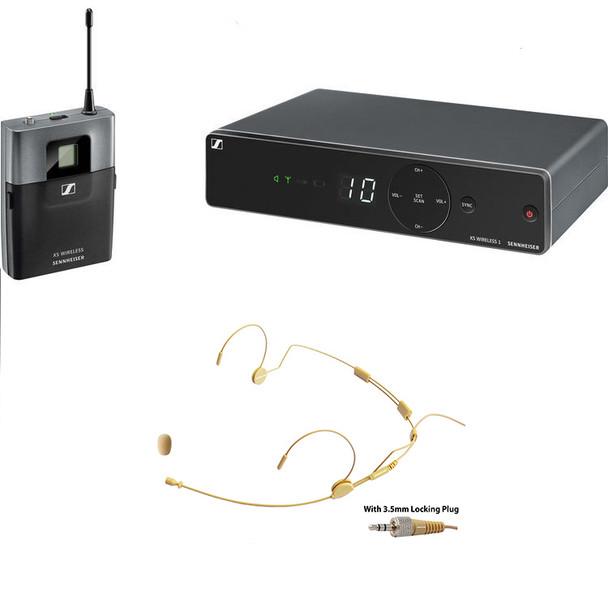 Sennheiser XSW 1-Cl1 wireless headset microphone/instrument bundle (w/MIC-500SEN)