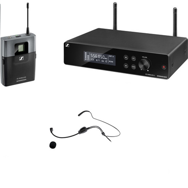 Sennheiser XSW 2-Cl1 wireless headband microphone/instrument bundle (w/ MIC200SEN)