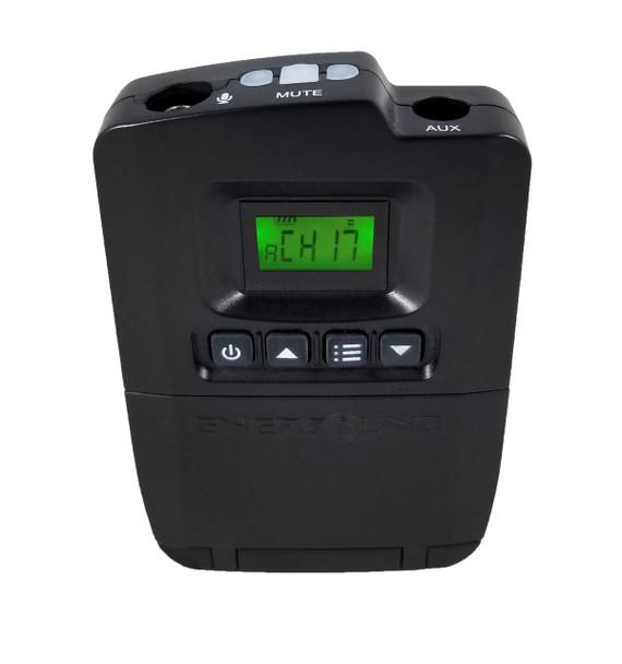 Enersound TP-600 multichannel portable transmitter (Limited Lifetime Warranty)