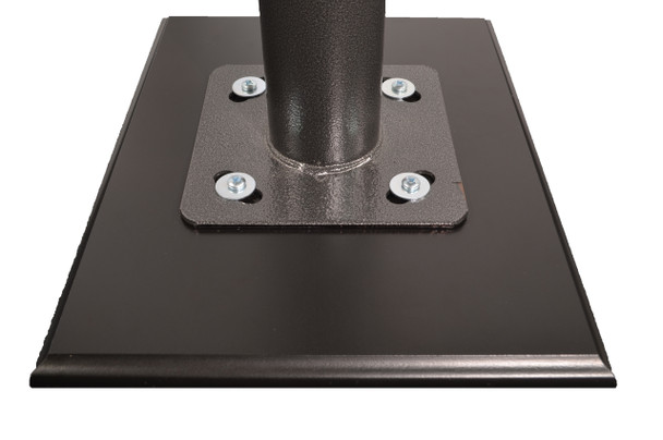 Adjustable Floor Stand for Temperature Kiosks