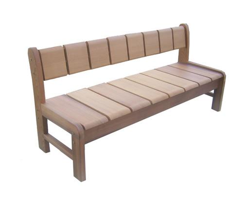 Pacific Cedar Bench
