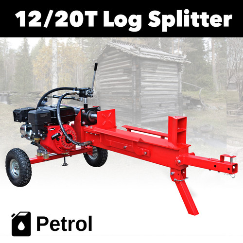BBT 12/20 T Petrol 4 stroke Wood Log Splitter
