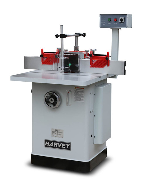 Harvey HW303E Spindle Moulder Router Table