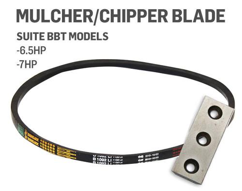 BBT Mulcher Belt & HSS Blade 6.5HP, 7HP