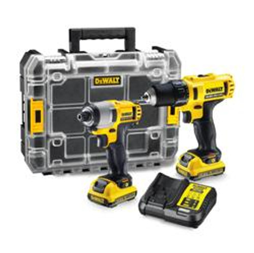 DeWalt XR Drill Driver and Impact TSTAK Combo