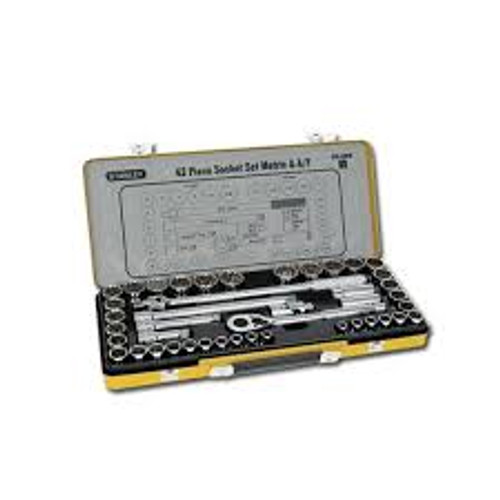 Stanley Socket Set 43pce Metric
