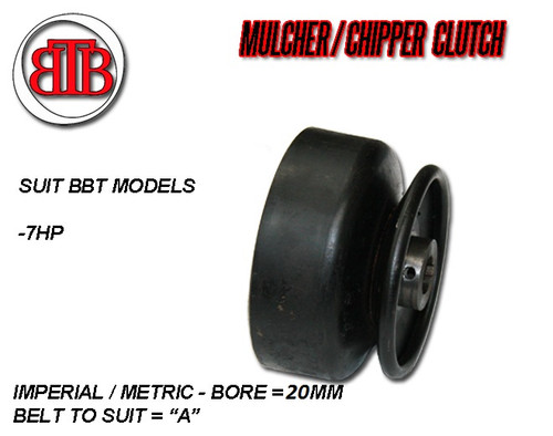 BBT Mulcher Clutch 7hp