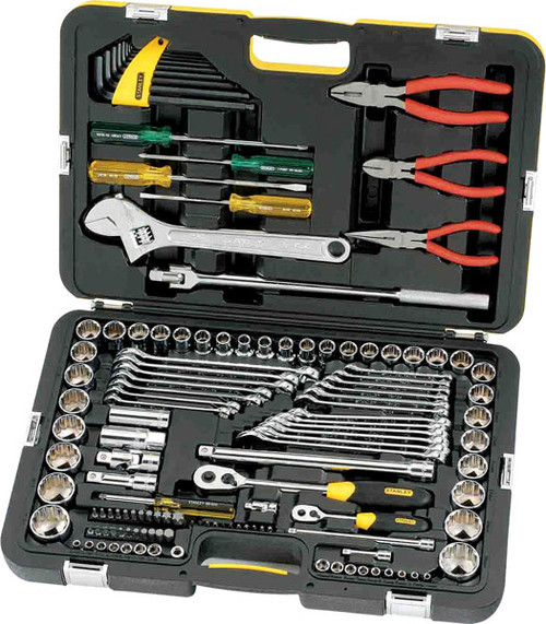 Stanley Fatmax 132pc Metric & A/F Tool Kit