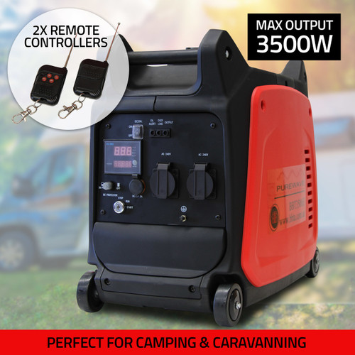 BBT 3.5KW Electric Start Sine Wave Inverter Generator