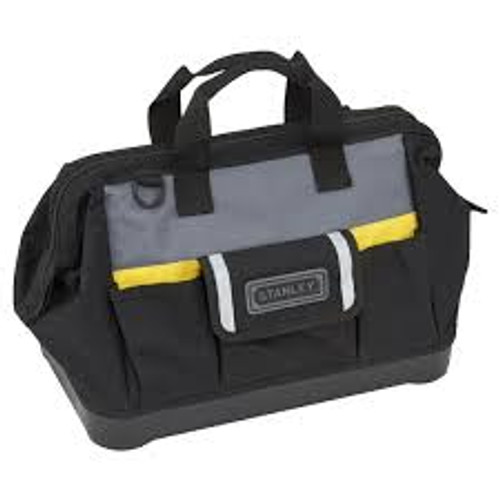 Stanley 1-96-183 Open Mouth Tool Bag / Contractor Bag