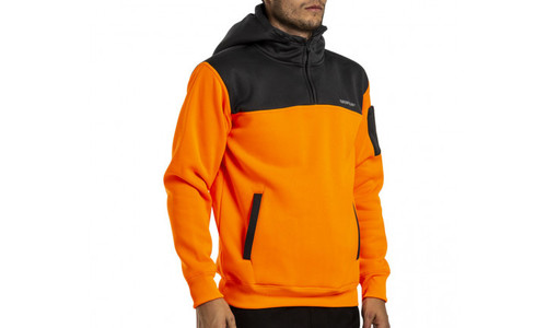 CAT Hi Vis Hoodie - Orange/Camo