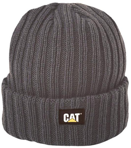 Cat Rib Watch Beanie Graphite