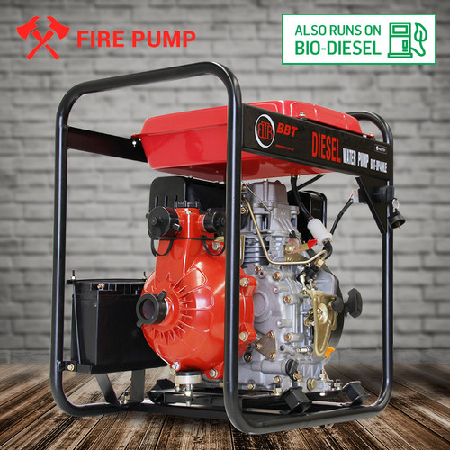BBT Diesel Single Impeller Fire Water Pump