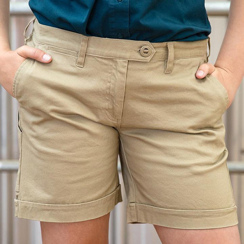 Shorts Original 'Outdoor All-Rounder' (Khaki) - Women's Workwear