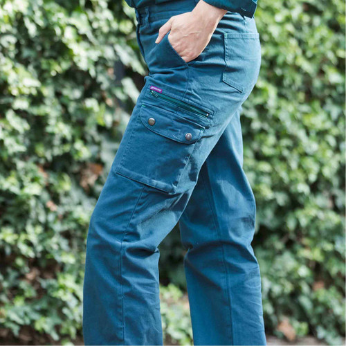 Green Hip - Pants Give Cargo 'Every Bron, Vick and Sally' (Gardener Green) - Women's Workwear
