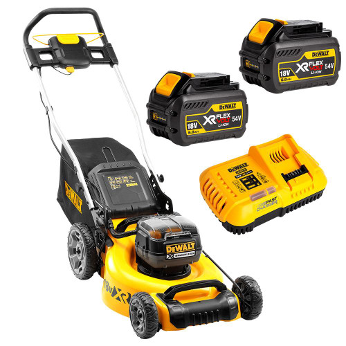 Dewalt 36v (18v x 2) 6.0 Ah XR Li-ion Cordless Brushless Lawn Mower Combo Kit