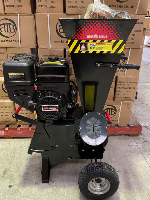 Ex Demo BBT 15/20HP Electric Start Mulcher Chipper