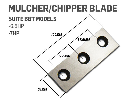 Mulcher Chipper Blade