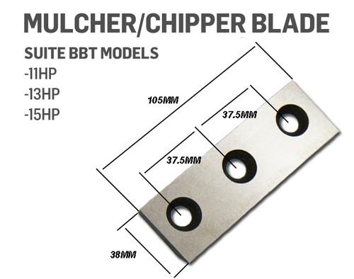 Mulcher Chipper Blade