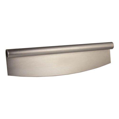 Stainless steel rocker pizza cutter