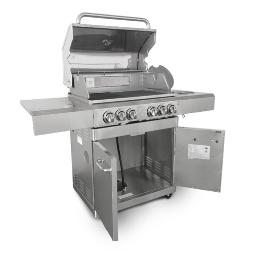 Bull BBQ Stainless Steel Deluxe Compact 6 Burner EX Demo