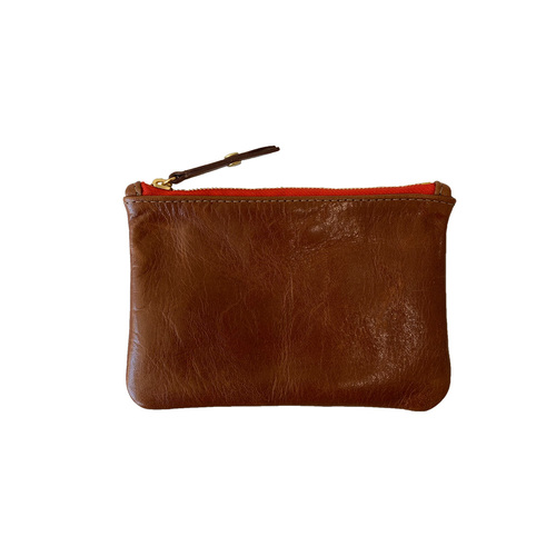 Zip Wallet | Chestnut