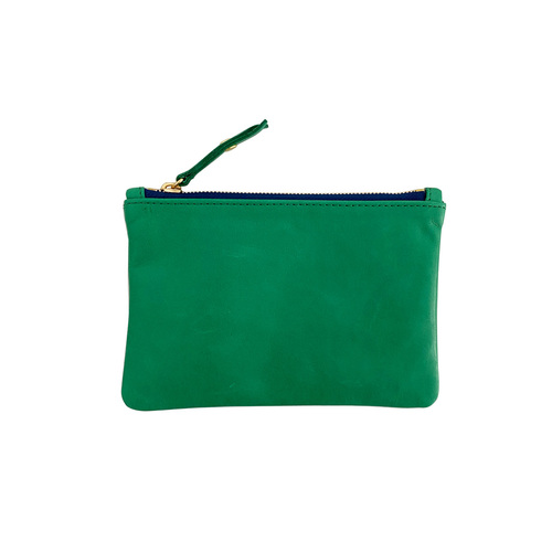 Zip Wallet | Kelly Green