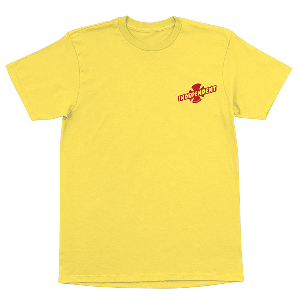 Independent Truck Co. Stampede T-Shirt  (Yellow)