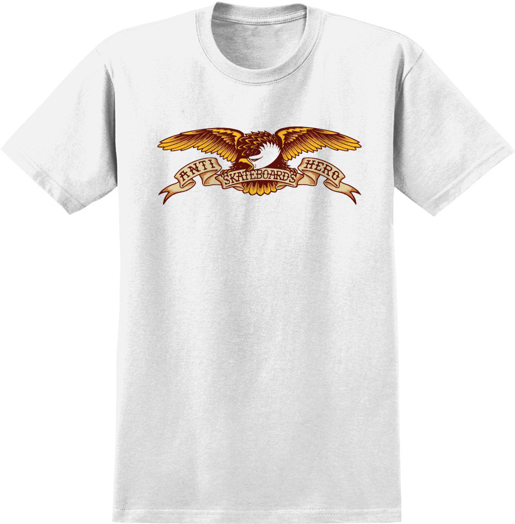 Antihero Skateboards Eagle T-Shirt (White)