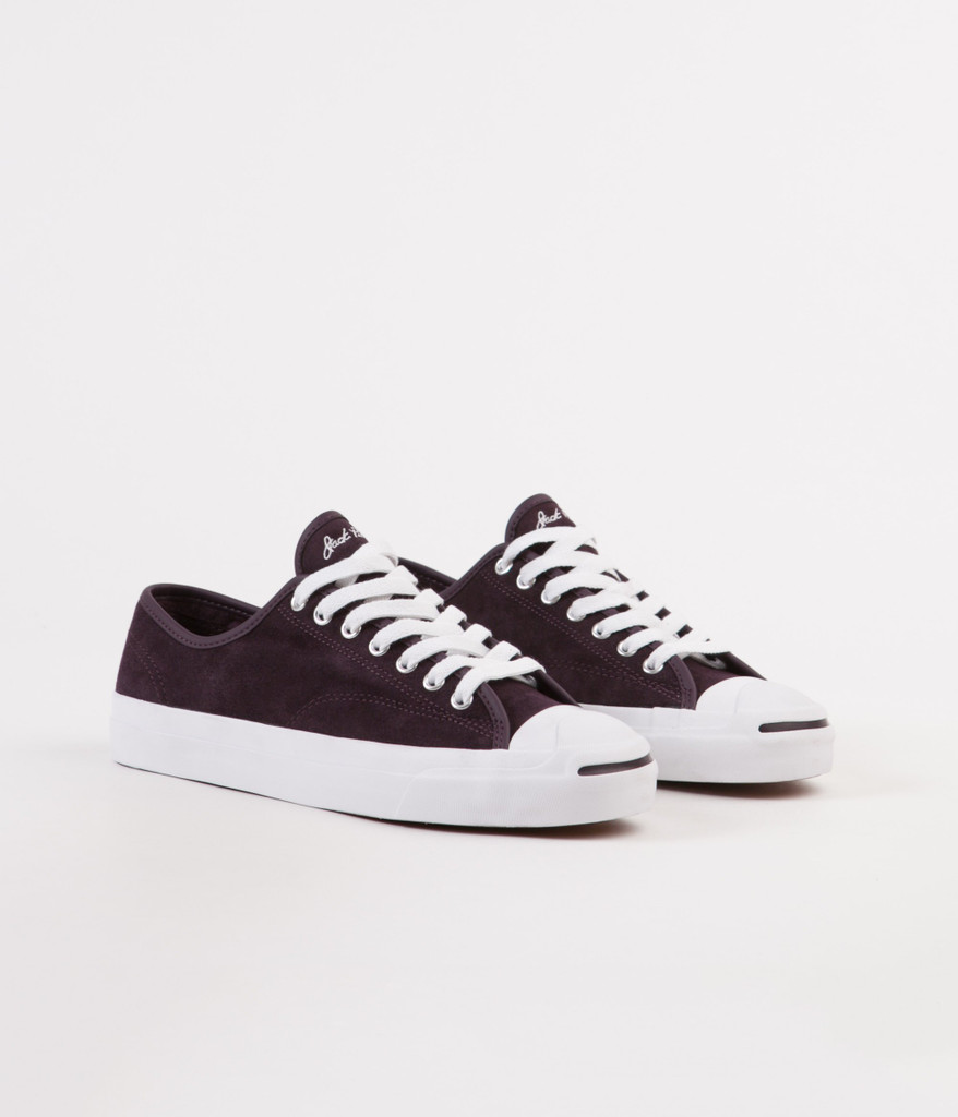 Converse CONS Jack Purcell JP Pro Ox Shoes (Black Cherry) FREE USA SHIPPING