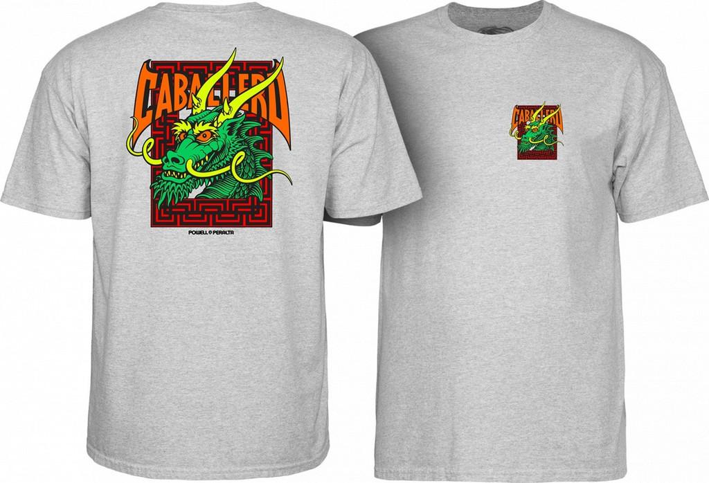 Powell Peralta Old School Caballero Street Dragon T-Shirt NEW (Available in 4 Colors)