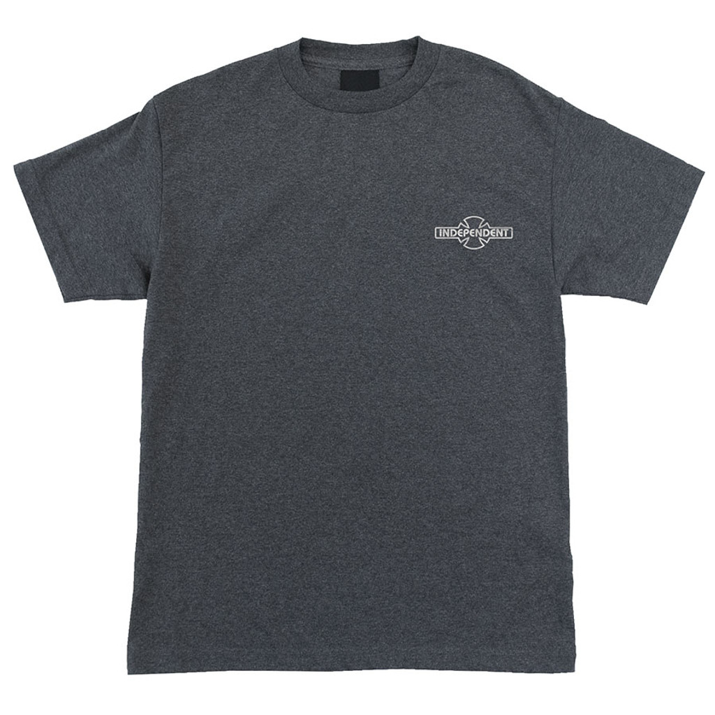 Independent Truck Co. O.G.B.C. Embroidery T-Shirt (Charcoal Heather)