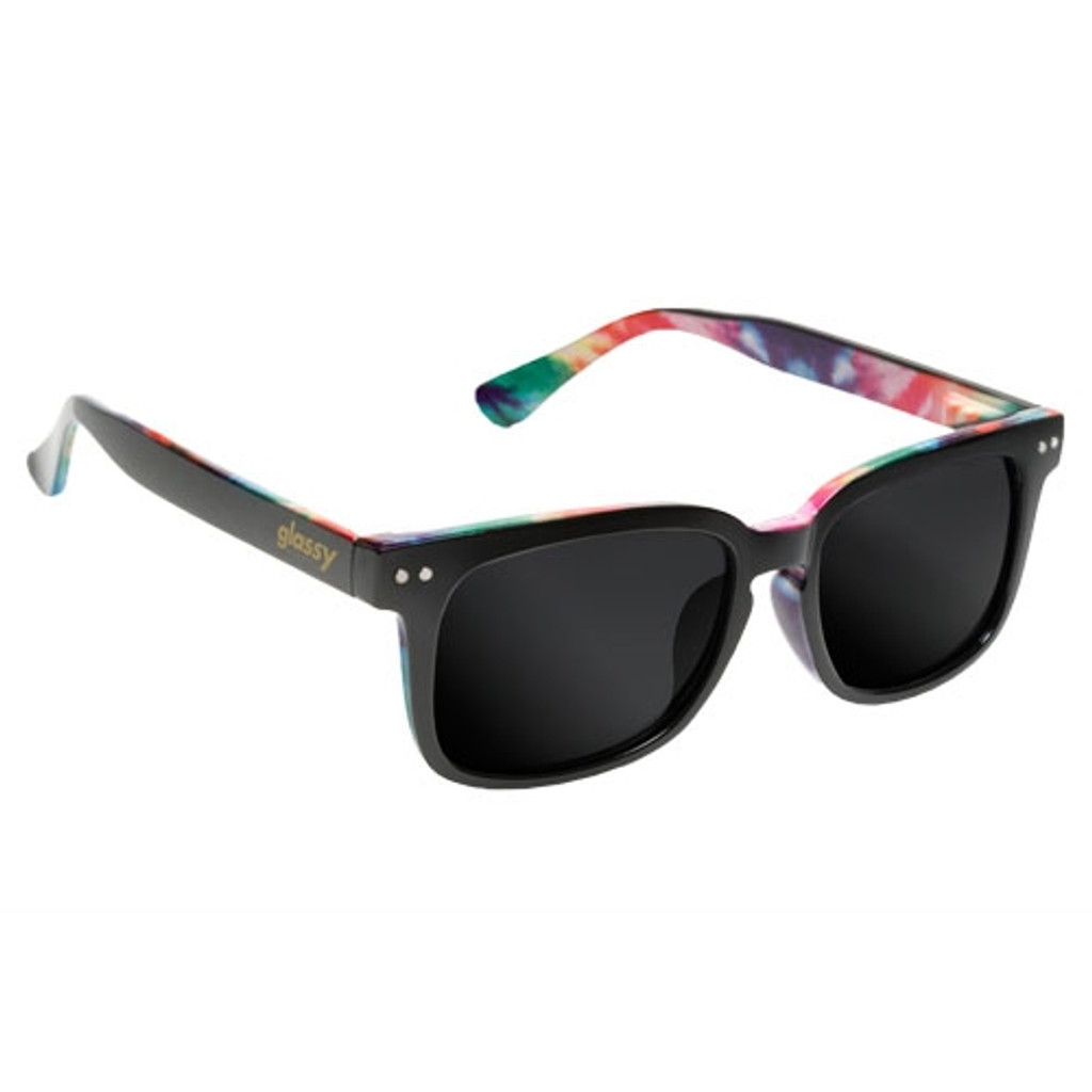 Glassy Lox Black Tye Dye Sunglasses