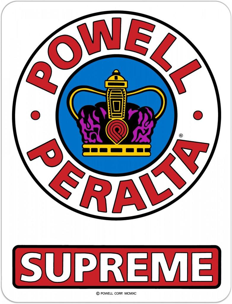"""Powell Peralta Supreme Sticker 3.25"""""""