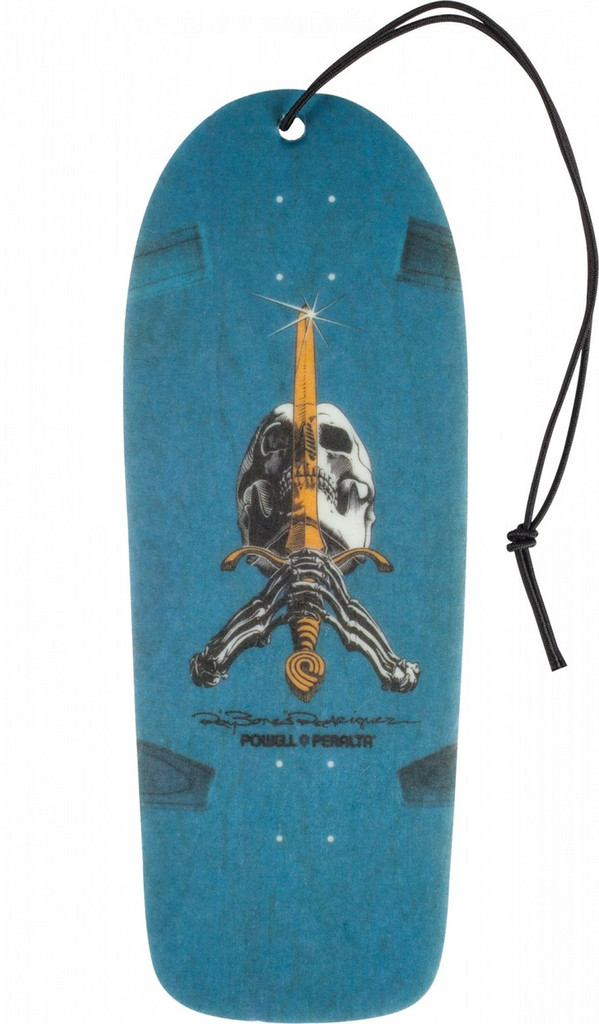 Powell Peralta OG Skull & Sword Deck Air Freshener Pineapple