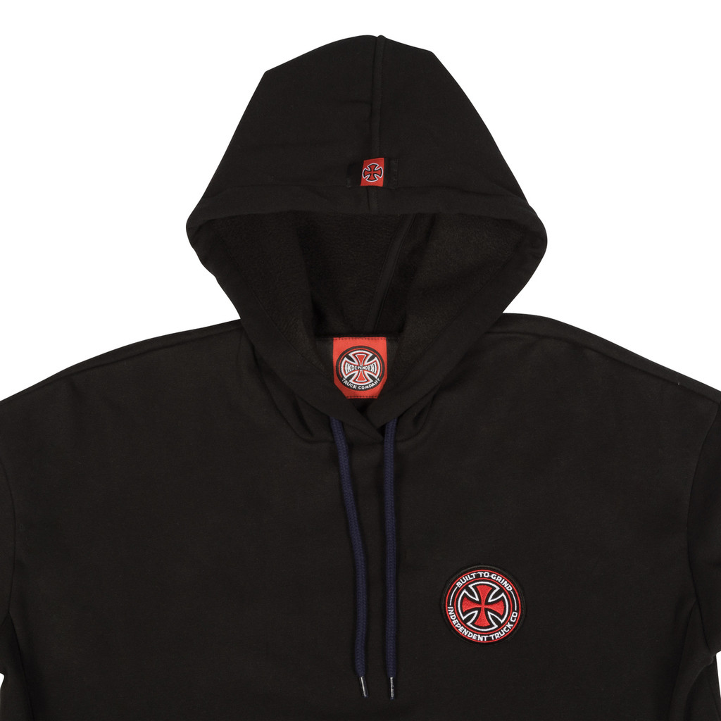 Independent BTGC Patch Pullover Hooded Sweatshirt