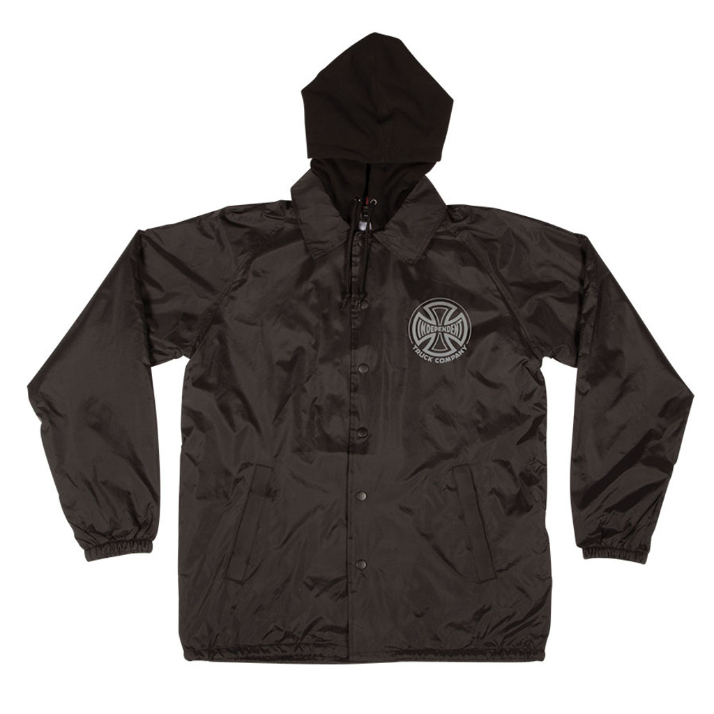 NEW Independent Foil Truck Co. Hooded Windbreaker Jacket NEW (Available in 2 Colors)