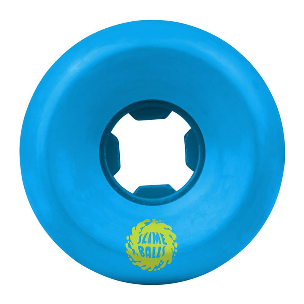 Santa Cruz Slime Balls Vomit Mini Wheels 54mm/97a Blue (Set of 4)