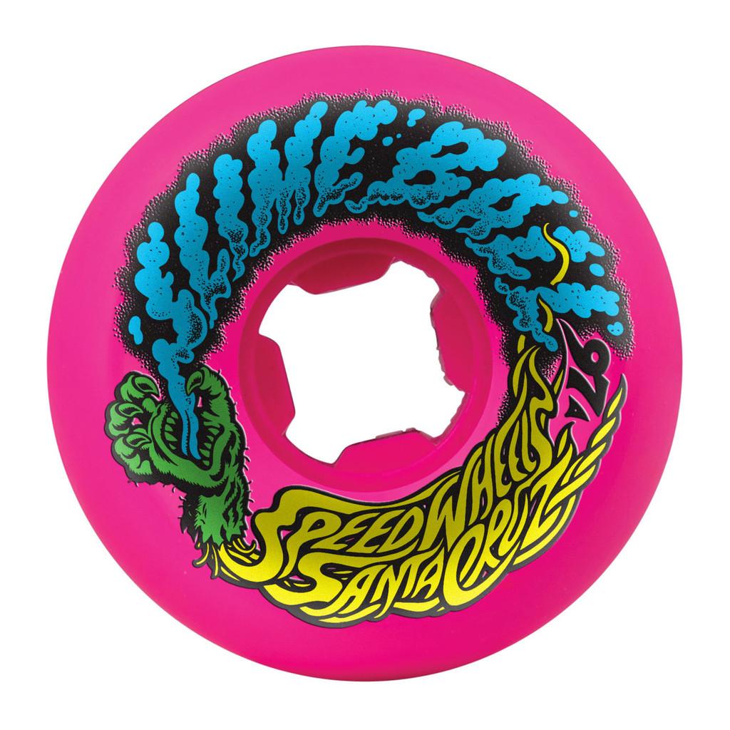 Santa Cruz Slime Balls Vomit Mini Wheels 56mm/97a Pink (Set of 4)