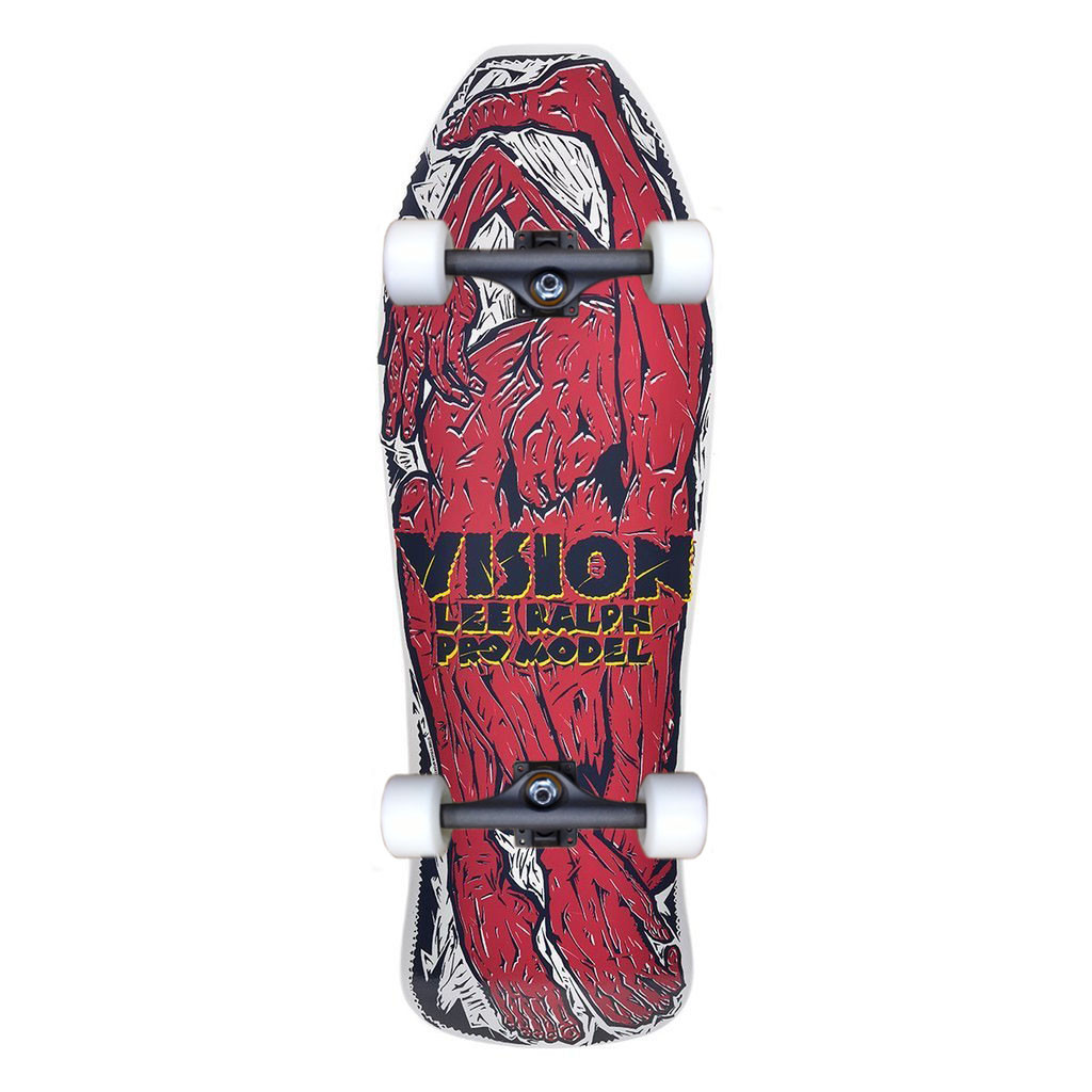 Vision Lee Ralph Contortionist Old School Reissue Complete (White)
