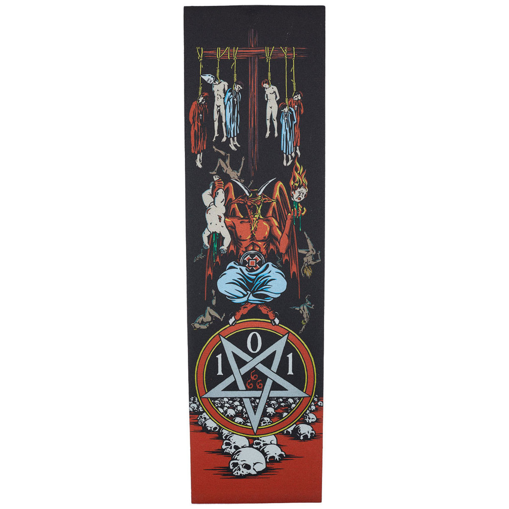 "101 Devil Worship Grip Tape 9"" X 33"""