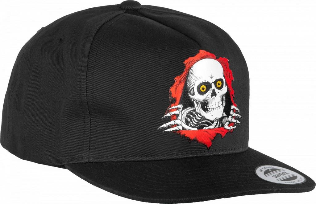 Powell Peralta Ripper Snapback Hat (Black)