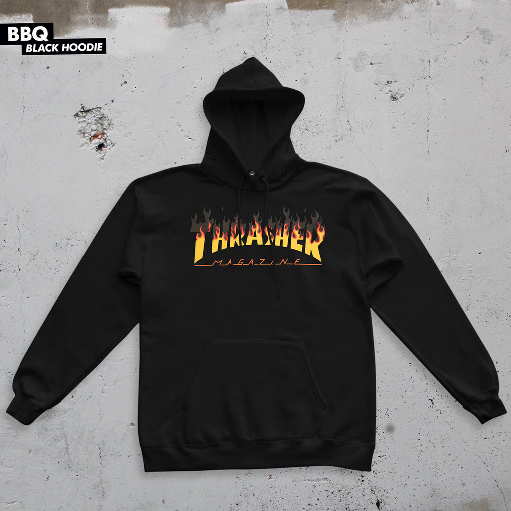 Thrasher Magazine BBQ Flame Sweatshirt