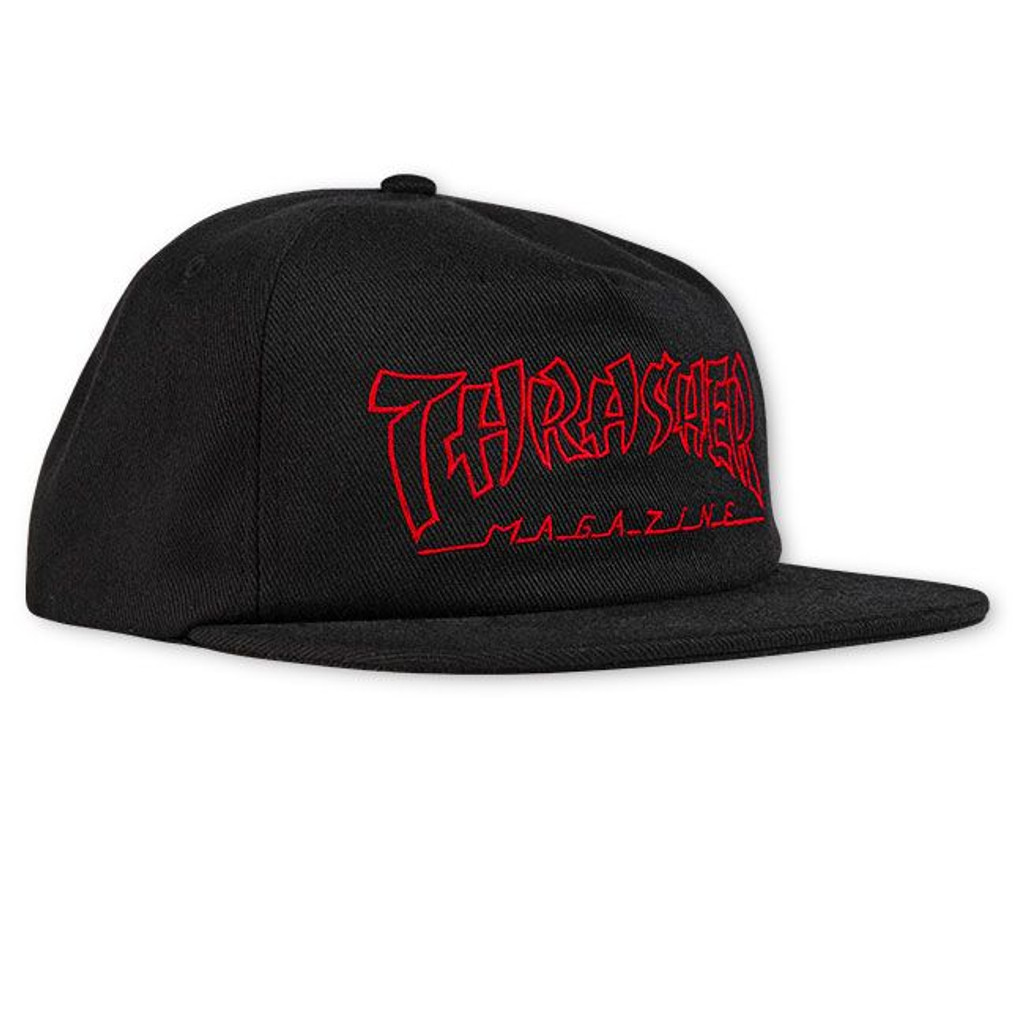 Thrasher China Banks Embroidered Snapback Hat
