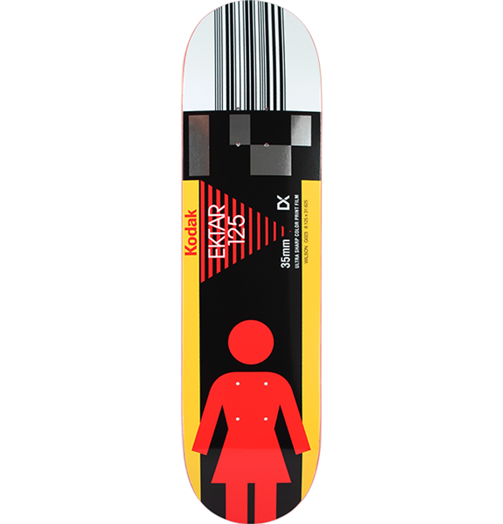 44676e14b9e Girl Skateboards Wilson Kodak Skateboard Deck 8.125